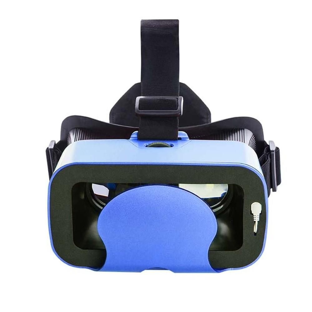qita 3d head mounted game helmet digital glasses VR mobile glasses font b virtual b font