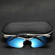 Açık sürme güneş gözlüğü kadın erkek yansıtıcı gece görüş parlama önleyici gözlük UV400 araba güneşliği Plarization güneş gözlüğü kadın