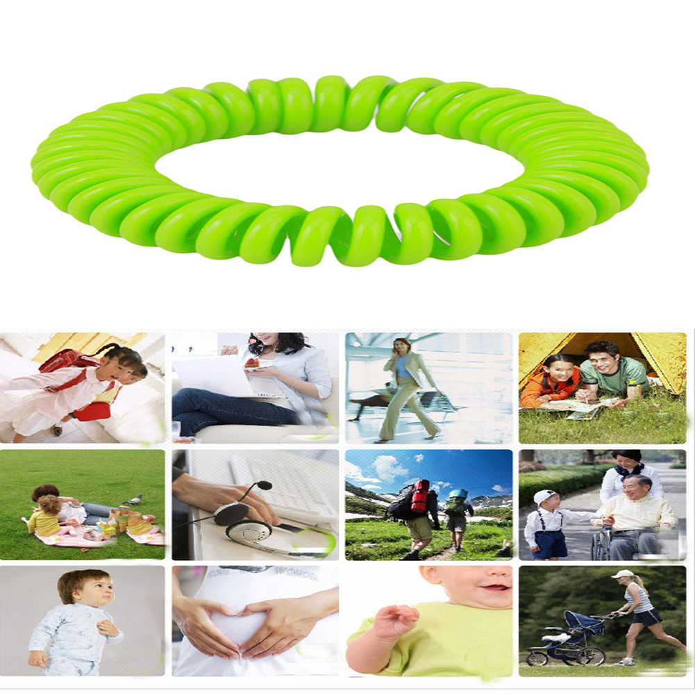 Mosquito Repellent Bracelets Pest Control Insect Adults Kids Camping Protection