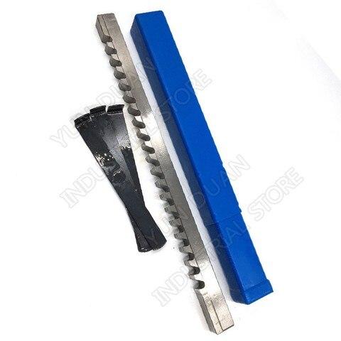Push tipo de Alta Velocidade de Aço Ferramenta de Corte para Cnc Máquina para Metais Abordar Chaveta Brochar 22mm f Hss Mod. 134323