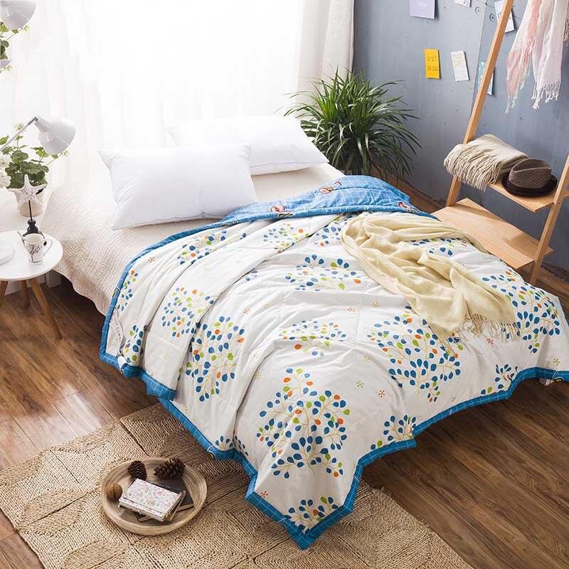 buy high quality bedding comforter set summer quilts cold fresh colors quilt. Black Bedroom Furniture Sets. Home Design Ideas