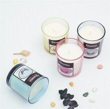 Handmade Natural Aromatherapy Smoke-free Candle Glass Holders Birthday Scented Making Wedding Decoration