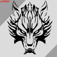 Car Wolf Head Hood decals Motorcycle Decal Vinyl Graphics stickers