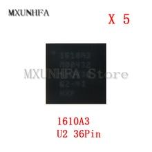 5 pcs 1610A3 U2 טעינת iC עבור iPhone 6 S & 6 S בתוספת 6 6G SE מטען ic שבב 36Pin על לוח כדור U4500 חלקי