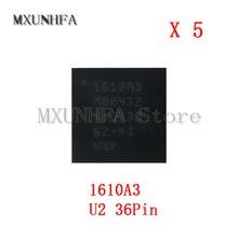IC de carga 1610A3 U2 para iPhone 6S y 6S Plus 6 6G SE, Chip ic, 36Pin, pieza de bola U4500, 5 uds.