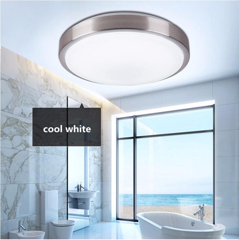 Image 5 - Ceiling lights LED lamp Diameter 21/26cm Acryli panel Aluminum frame edge indoor lighting Bedroom living kitchen LED light 12W-in Ceiling Lights from Lights & Lighting