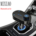 T9S  Wireless Bluetooth Fm Transmitter  receiver kit   Car Mp3 Player  FM Modulator Hands Free Car Kit A2DP USB Charger