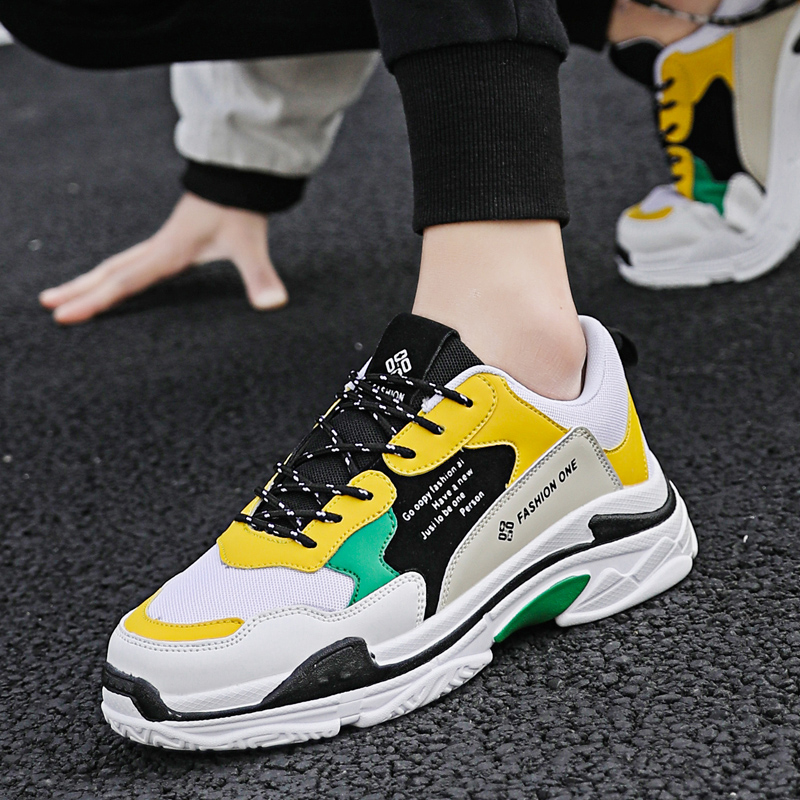New Mens sneaker Balenciaca Balanciaga shoes Thick Bottom Platform Panda Triple S male light super running masculino size 39-44New Mens sneaker Balenciaca Balanciaga shoes Thick Bottom Platform Panda Triple S male light super running masculino size 39-44