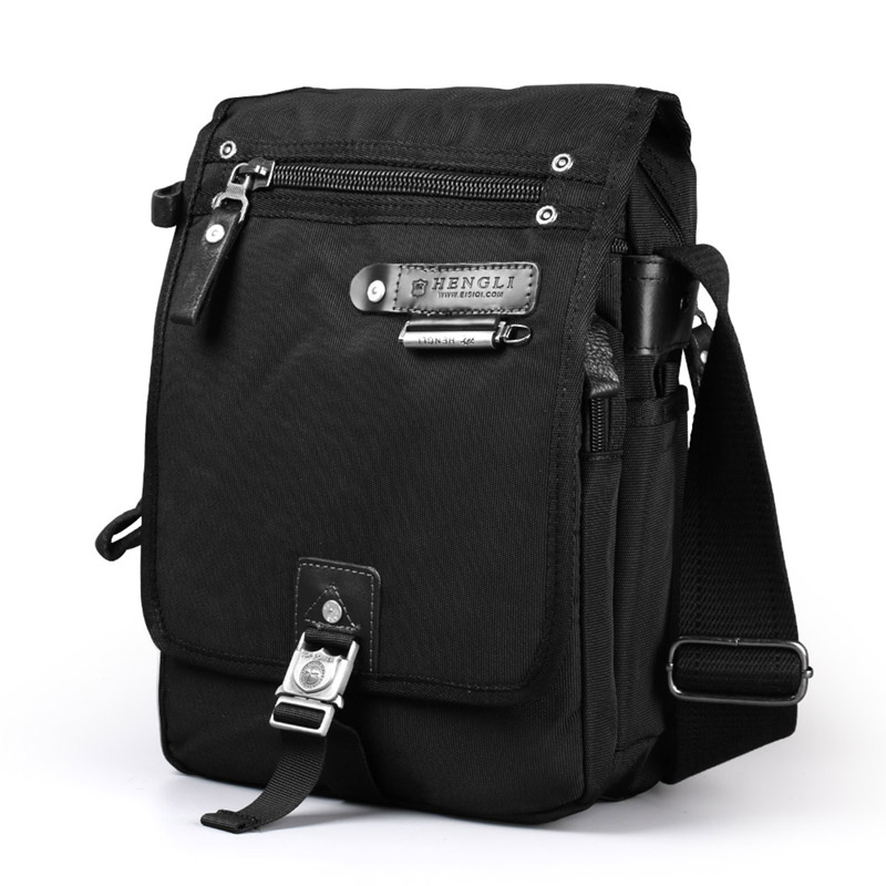 2017 Ruil Men s Messenger Canvas Bags Fashion Waterproof Oxford Cloth Casual Multifunction Travel crossbody Bags