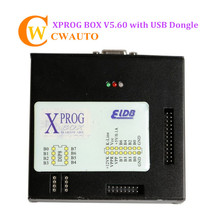 XPROG V5.84 X-progM Box ECU Programmer With USB Dongle Can Support CAS4