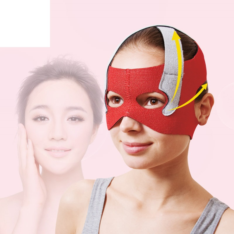 Japan Cogit Beauty Face Lift Mask for Eye Socket End Care Lifting Face Line Belt Strap for Eye Hole Sauna support Face Slimming