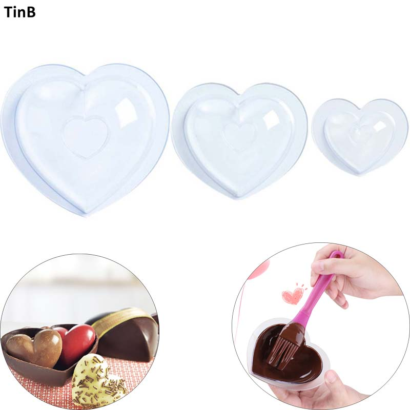 Special Price For Polycarbonate Chocolate Mold Heart Ideas And Get Free Shipping A683