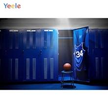 Yeele Professional Photographic Backdrops Basketball Player Locker Room Interior Photography Backgrounds Custom For Photo Studio