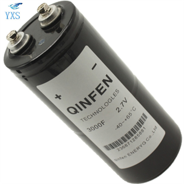 60*125mm Super Farah Capacitor 2.7V 3000F Brand New and Original