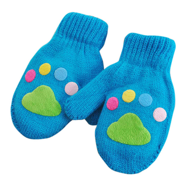 2e8f263cb Winter Warm Baby Clothes Children s Gloves Cute Infant Kids Mitten ...