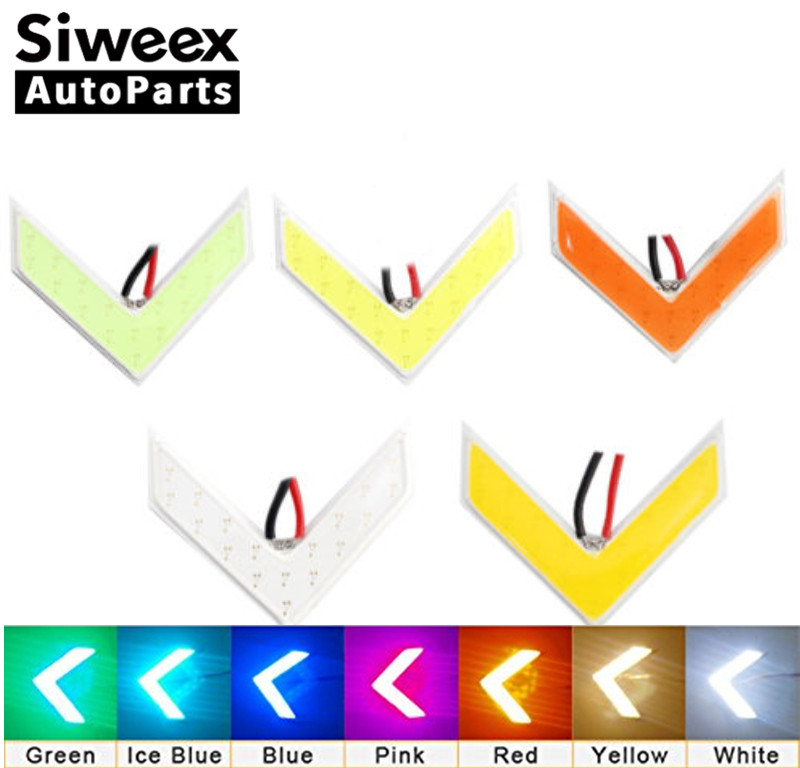 2pcs Auto COB LED Arrows Lamp Indicator Safe Led Panels Car Side Mirror Turn Signal Light Variety Of Colors Long Lifetime