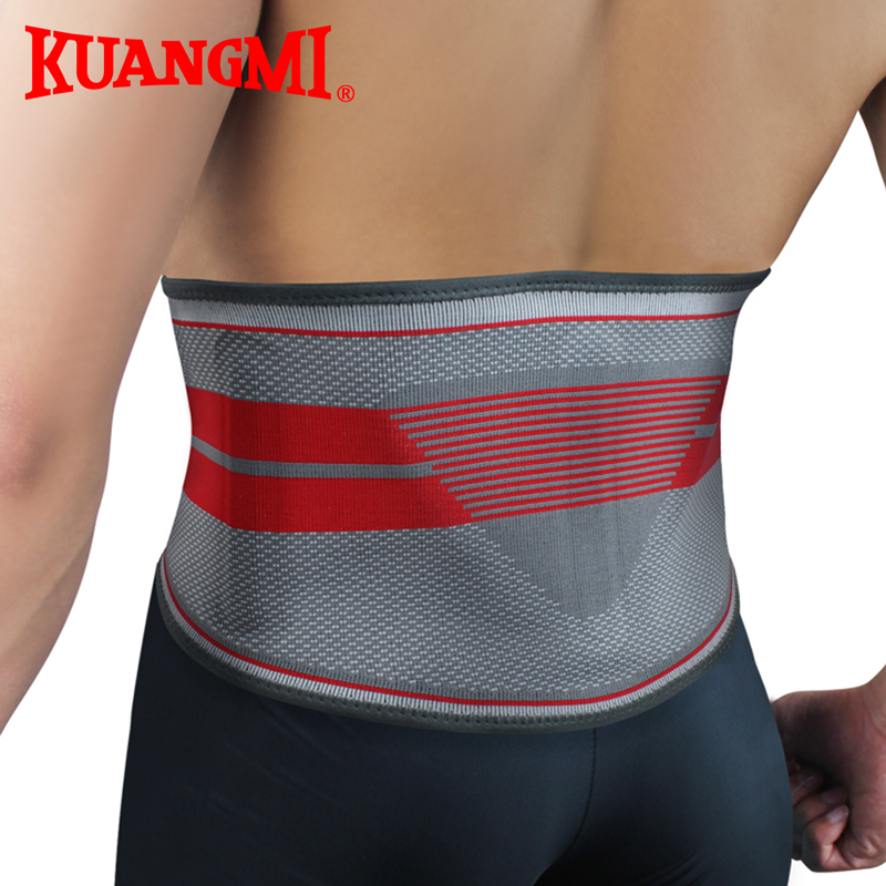 Kuangmi Fitness Warm Sport Roshe run Lumbar Support Belt Ceintures Homme Pressurized Back Aist Support 1PC шина nokian nordman rs2 155 70 r13 75r