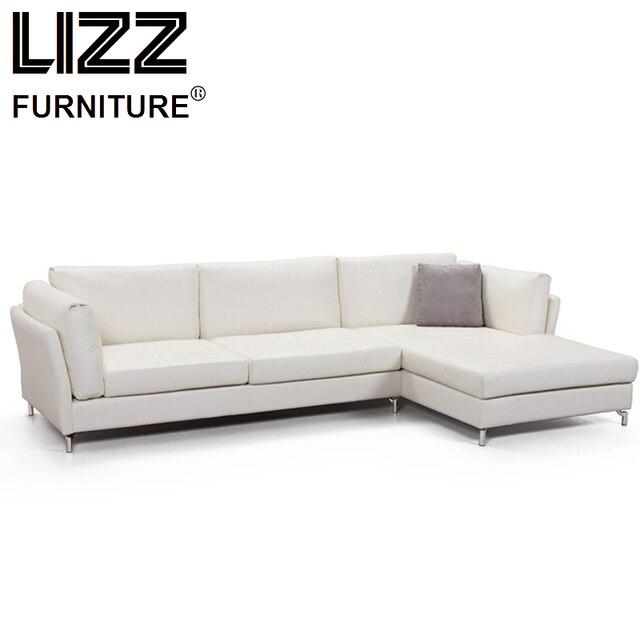 Corner Sofas Loveseat Leather Sofa Chair Sofa Para Sala Living Room ...