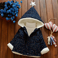 Autumn Winter Children Clothing Outerwear Female Child Wadded Coat Baby Boys Girl Cotton-Padded Thickening Jacket  BC06