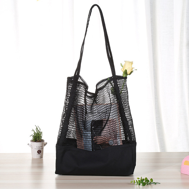 Canvas Net Grocery Bag