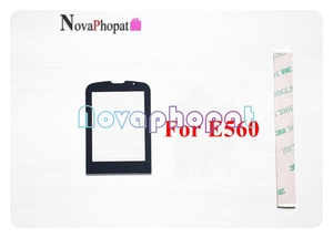 Image 5 - Novaphopat Black Front Glass Screen For Philips Xenium X5500 / X623 / E570 / E560 Outer Glass lens Panel +tracking