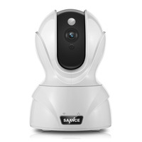 SANNCE 1080P Security Camera Smart Wireless IP Camera With Pan Tilt Mobile Push And Email Alert