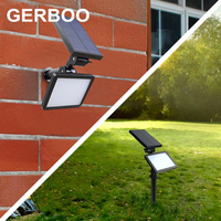 New Arrival Led Solar Light Outdoor Solar Power Spotlight Garden Lawn Lamp Landscape Spot Lights Patio