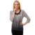 Celosía BFDADI Mujer Primavera Verano Moda Tops ocasionales Flojas Del O-cuello decoración de Flores gradiente de color camisetas de Gran tamaño 79690