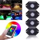 RGB светодиодный светильник Rock Neon, комплекты с Bluetooth, управление сотовым телефоном, управление автомобилями, внедорожный грузовик, внедорожн...