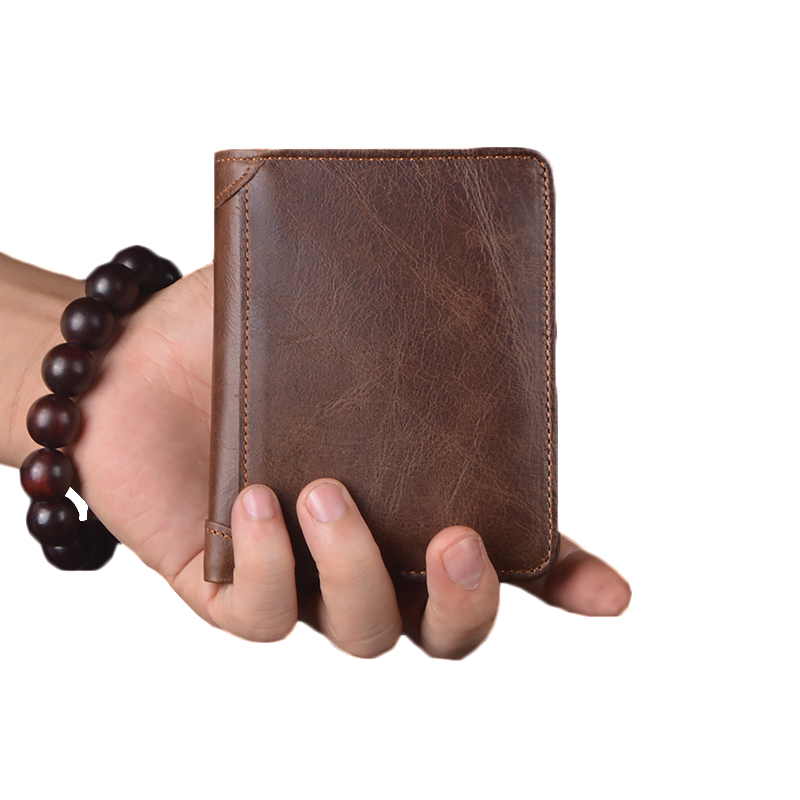Small Genuine Leather Men Wallets Solid Men Purse Short Men's Wallet Leather Coin Purse Male Clutch Card Holder Black Carteira men wallet male cowhide genuine leather purse money clutch card holder coin short crazy horse photo fashion 2017 male wallets