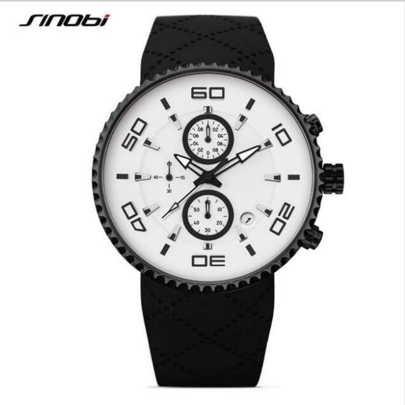 SINOBI Mens Watches Top Brand Luxury Sport Watch Men Watch Luminous Waterproof Men's Watch Clock reloj hombre relogio masculino все цены