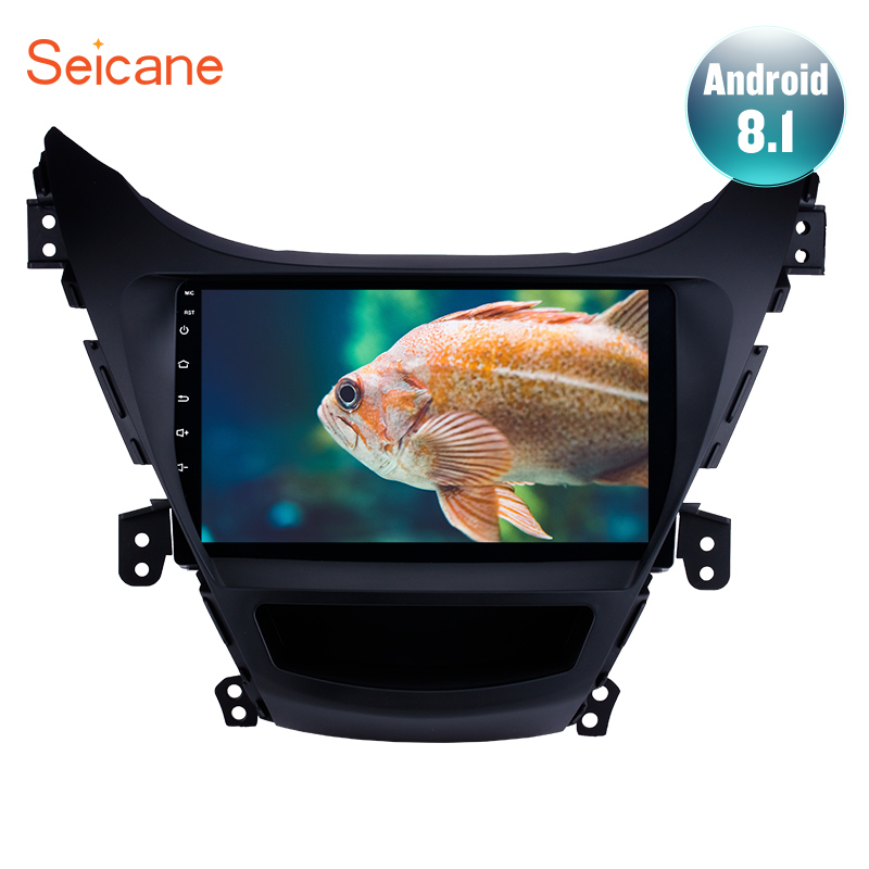 Seicane Android 8 1 Car GPS Navigation 9 Inch Multimedia Player For 2011 2012 2013 Hyundai