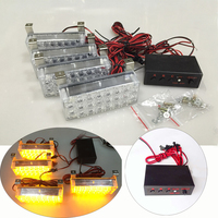 22 4 LED Strobe Emergency Flashing Warning Light For Car Truck Lights Warning Flash Flashing Strobe