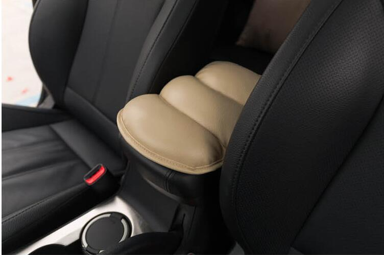Car Leather Central Armrest Console Box Pad Cover For Lincoln