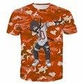 Классический Печатает футболки Мужчины Женщины Аниме Наруто Учиха Итачи t футболки Hipster 3D футболка Orange Камо Тис Harajuku тройник рубашки