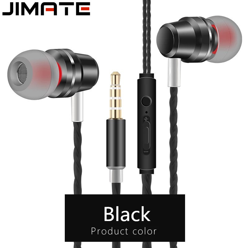 Professional In-Ear Wired Earphone Earbuds Metal Heavy Bass High Fidelity Sound Quality Music Earphone Ear Phone For Smart Phone