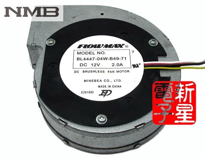 NMB BL4447-04W-B49-71 DC 12V 2A turbo blower fans