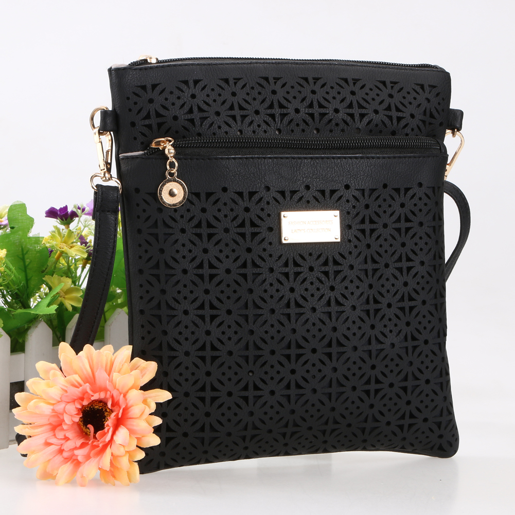 2017 Small Casual women messenger bags PU hollow out crossbody bags ladies shoulder purse and handbags bolsas feminina edox 85021 37rbuir edox