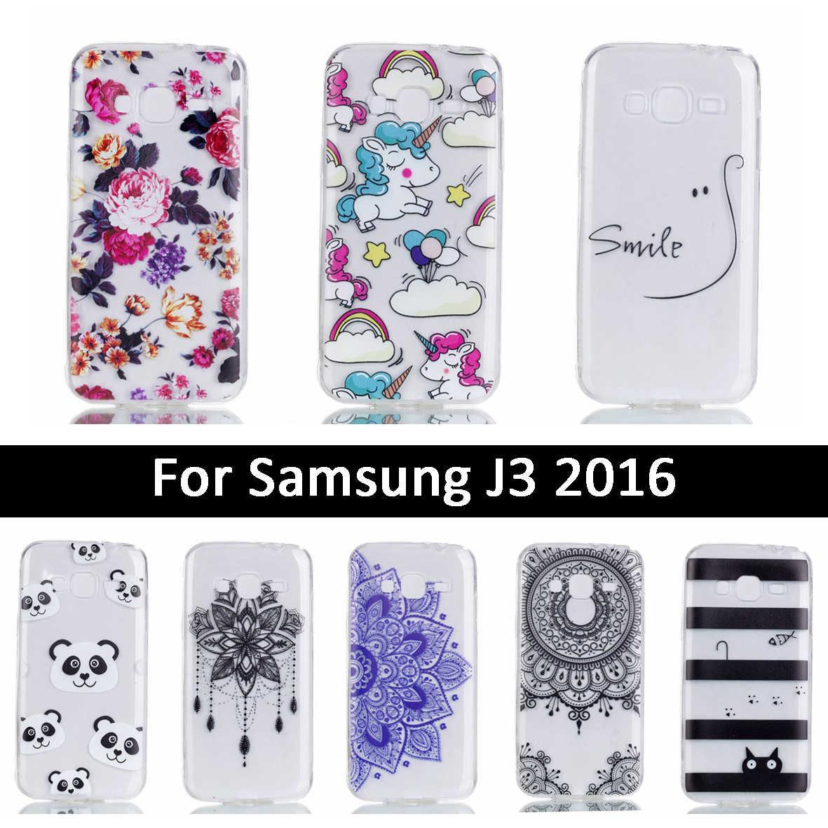 Роскошный чехол для samsung Galaxy J3 2016 j310 J310F Мягкий силиконовый чехол из ТПУ для samsung J3 2016 J 3 310 310F Мультяшные Чехлы Coque