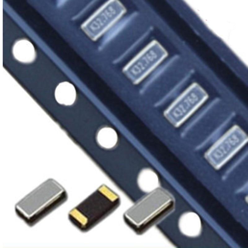 Резонатор 32,768 K 32,768, 10 шт., SMD, кристаллический, Пассивный, 2*1,2 2012, 32768 кГц