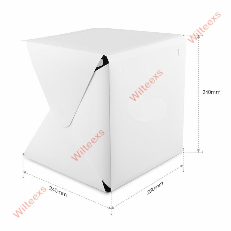 WILTEEXS Mini Photo Studio Box Telón de fondo de fotografía - Cámara y foto - foto 2