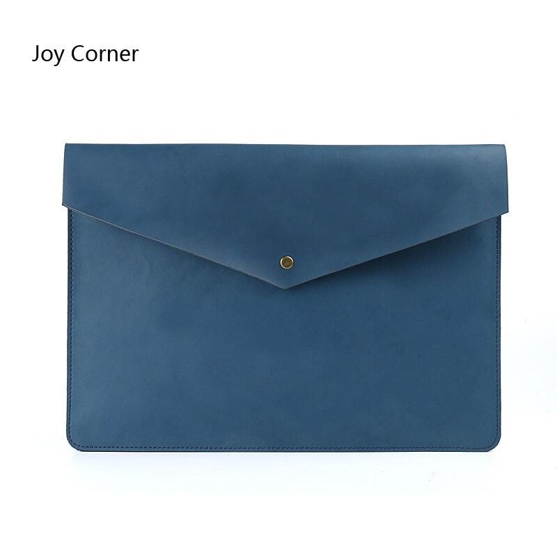 New Cow Leather Document Holder File Folder File HolderBag A4 Folders For Documents Document Handbag Pasta De Couro Briefcase
