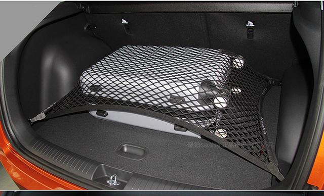 Suv elástico tronco de almacenamiento organizador neto posterior del coche de carga de equipaje net net holder para Hyundai Tucson