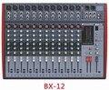 12-канальный Профессиональный звуковой микшер BX-12/профессиональное аудио микшерный пульт/mp3-плеер с USB цифровой микшерный пульт lnksound