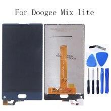 100% test için Doogee MIX Lite LCD monitörler için Doogee MIX Lite LCD ekranlar ve digitizer telefonu aksesuarları