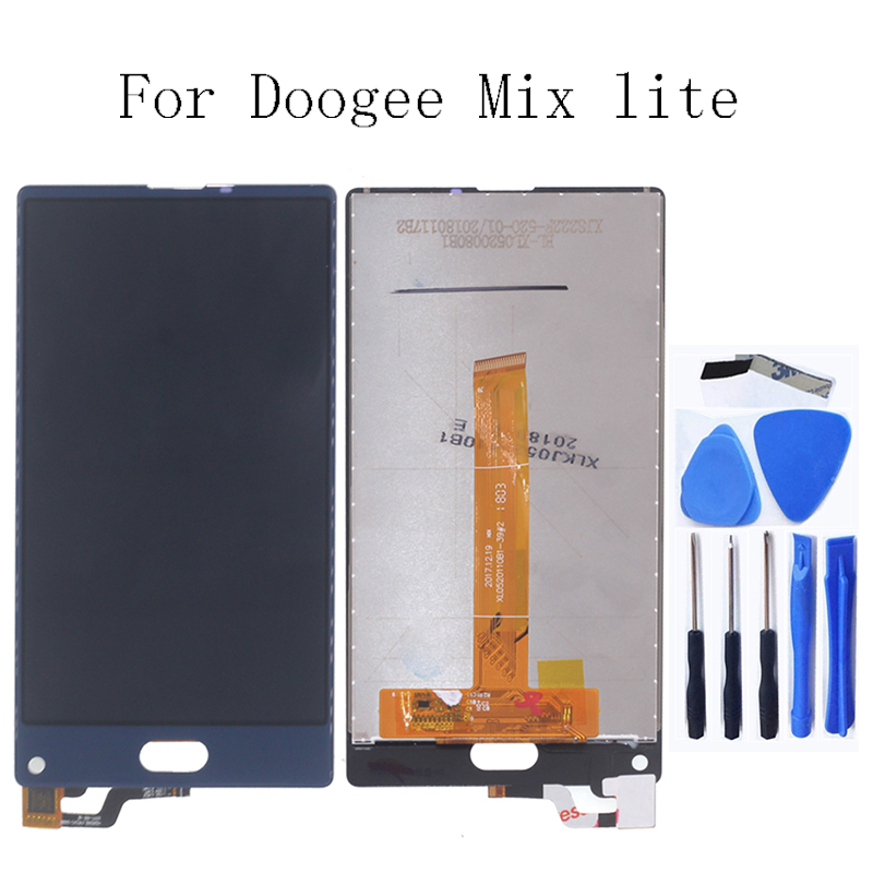100% tested for Doogee MIX Lite LCD monitors screens and digitizer phone accessories