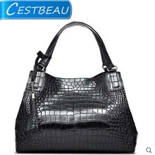 cestbeau  2017 new crocodile belly women handbagt woman  single shoulder bag shopping handbag belly