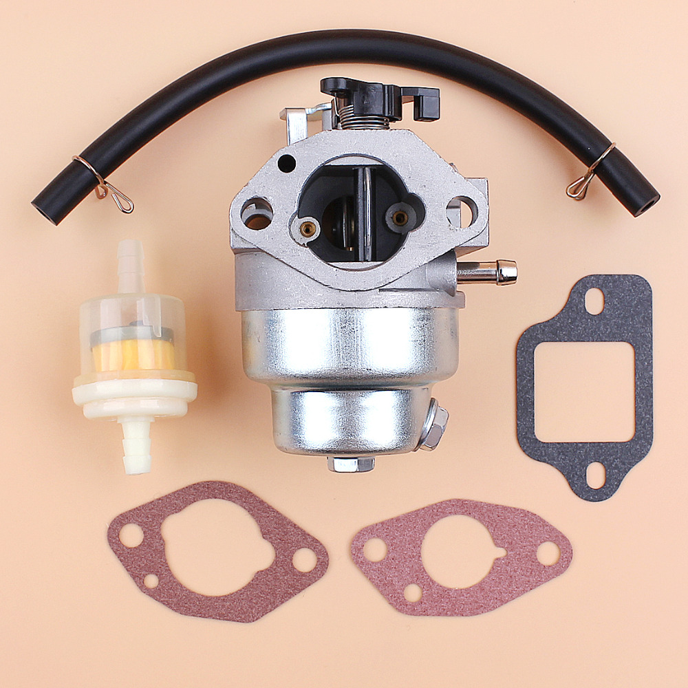 Carburetor Gasket Fuel Hose Filter Kit Fit Honda GCV160 GCV160LA HRB216 HRR216 HRS216 HRT216 HRZ216 Lawnmower Gas Engine Motor