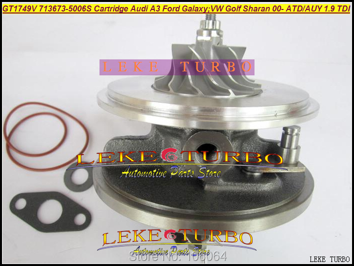 Turbo Cartridge CHRA GT1749V 454232-0001 454232-0003 713672 454232 For Audi A3 For Skoda Beetle Bora Golf 4 AHF ALH AJM AUY 1.9L turbo chra cartridge gt1749v 716215 0001 712077 0001 716215 712077 for audi a4 b7 a6 vw passat b6 bre brf bvg bvf blb dpf 2 0l