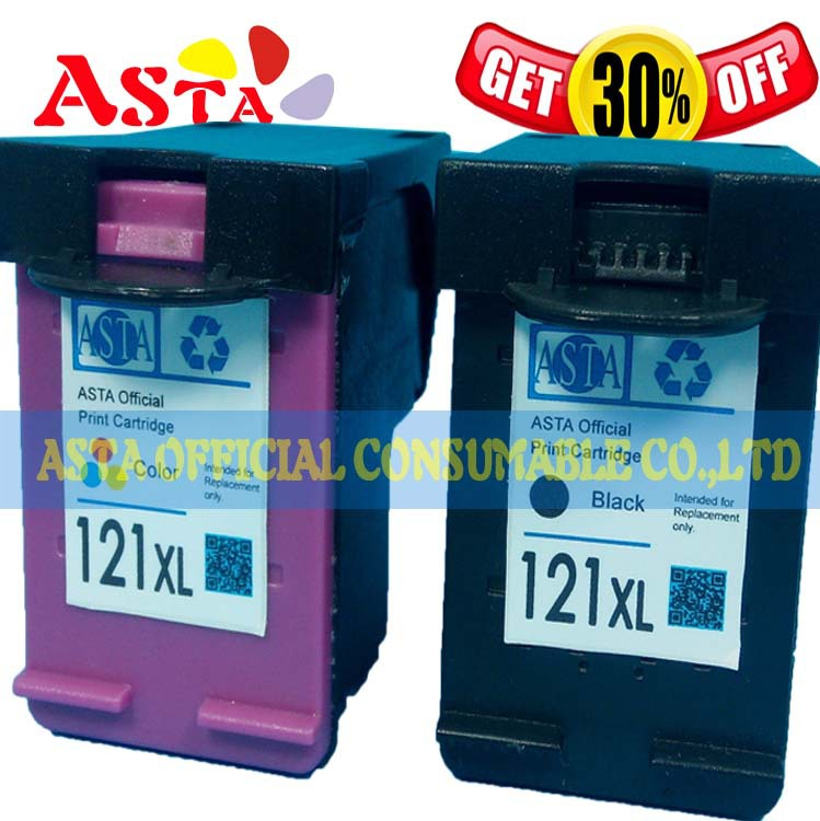 For HP Photosmart C4783 C4683 Ink Cartridge At11,100% Quality Test 121 XL Ink Cartridge for HP Photosmart C4683 C4783 Printer